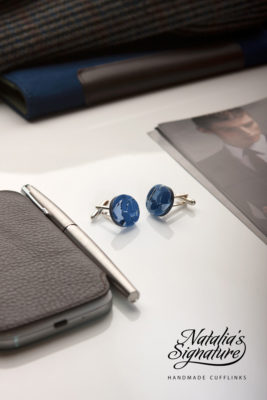 "Cufflinks by Natalia's Signature <a href=""https://www.nataliassignature.co.uk/"" target=""_blank"">nataliassignature.co.uk</a>"