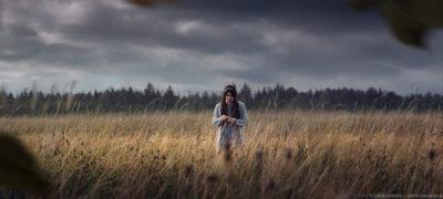 Russian Field (Model - Lolita Romanova)