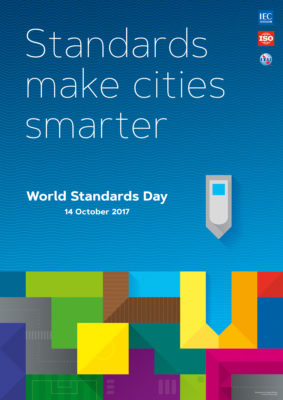 Poster (A2 format) to the World Standards Day 2017 Poster Contest